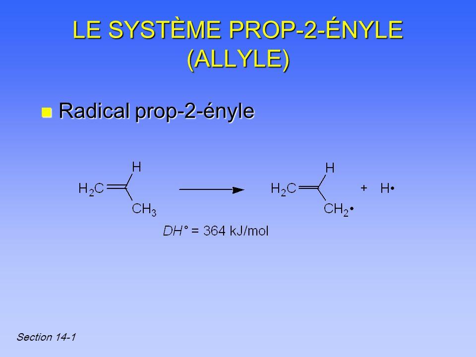 LE SYSTÈME PROP-2-ÉNYLE (ALLYLE)