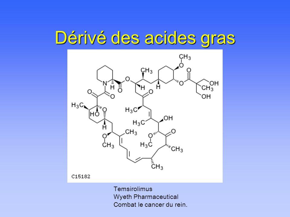 Dérivé des acides gras Temsirolimus Wyeth Pharmaceutical