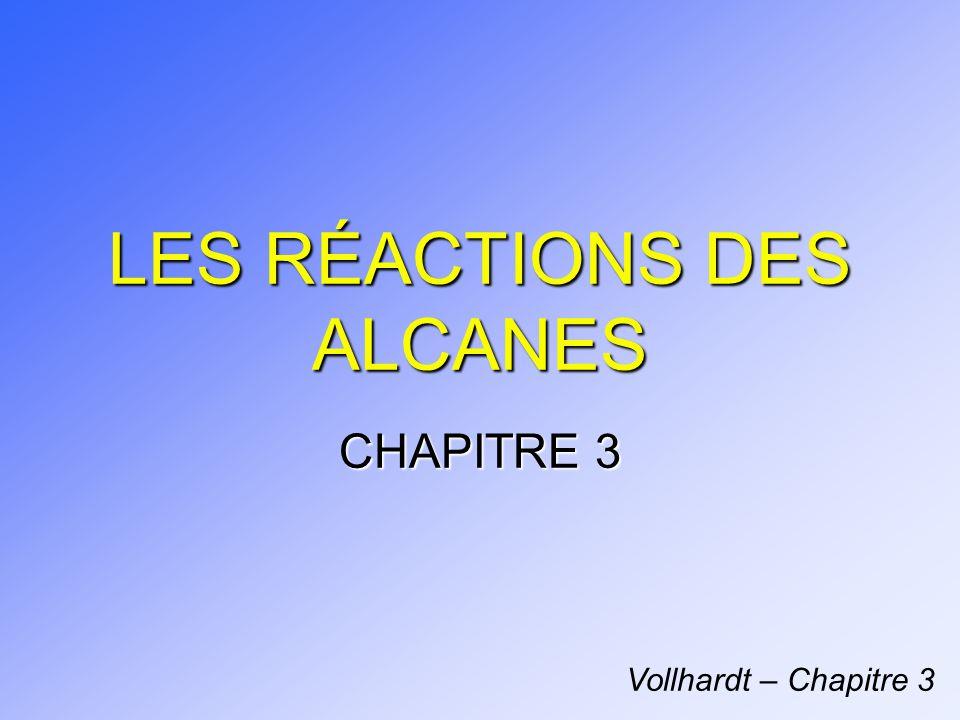 LES RÉACTIONS DES ALCANES