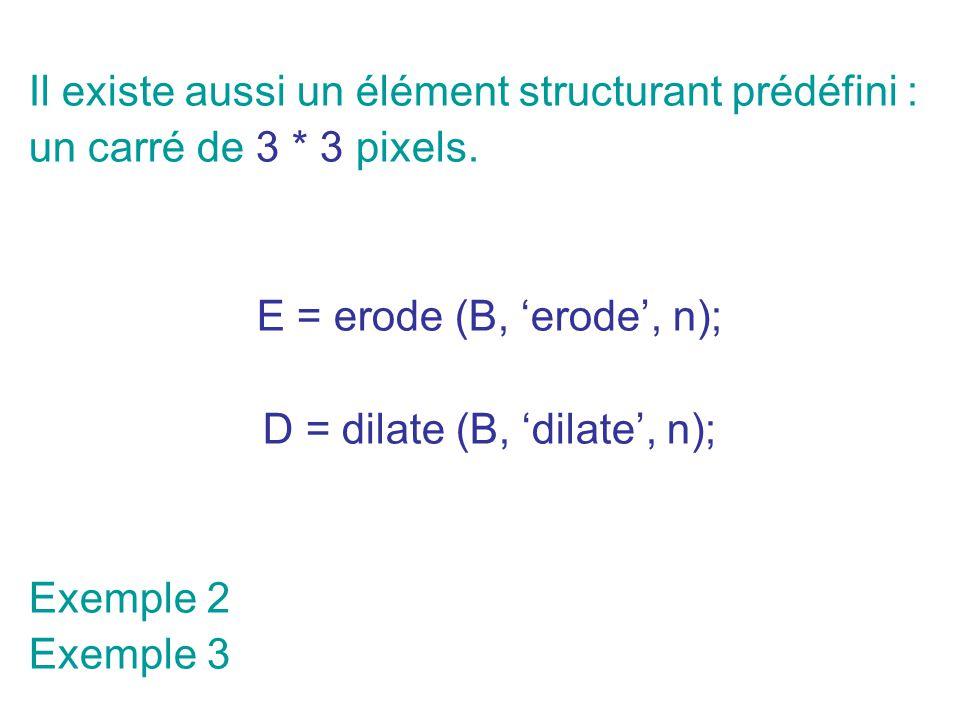 D = dilate (B, 'dilate', n);