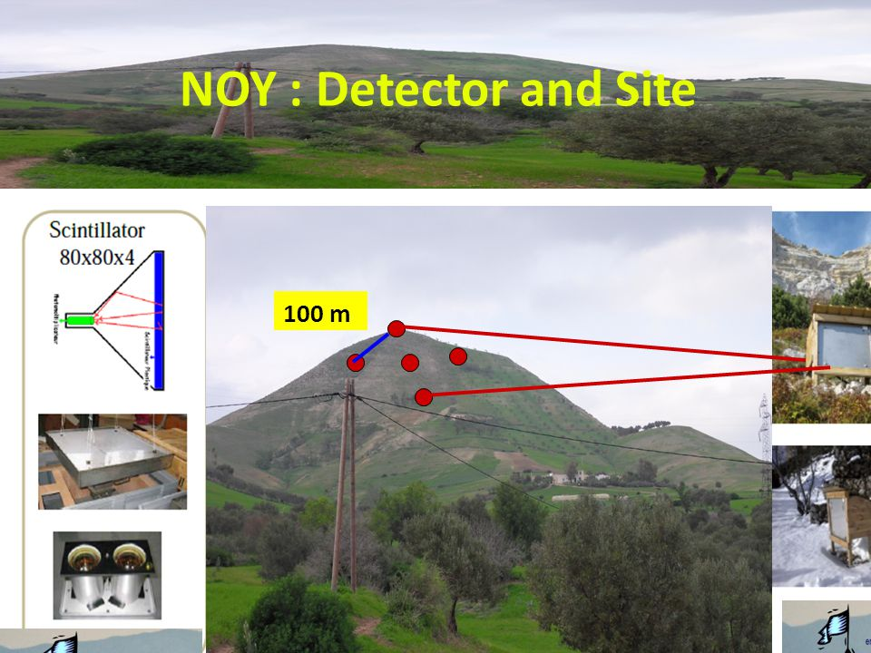 NOY : Detector and Site 100 m