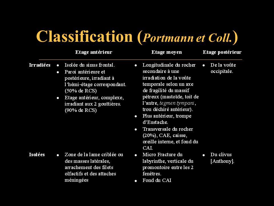 Classification (Portmann et Coll.)