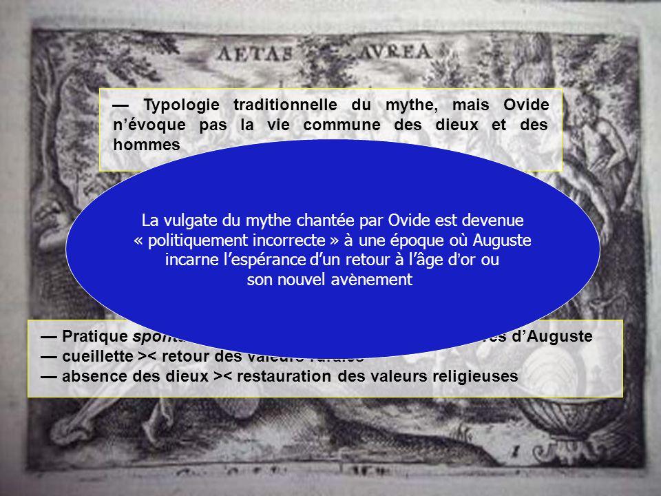 La vulgate du mythe chantée par Ovide est devenue
