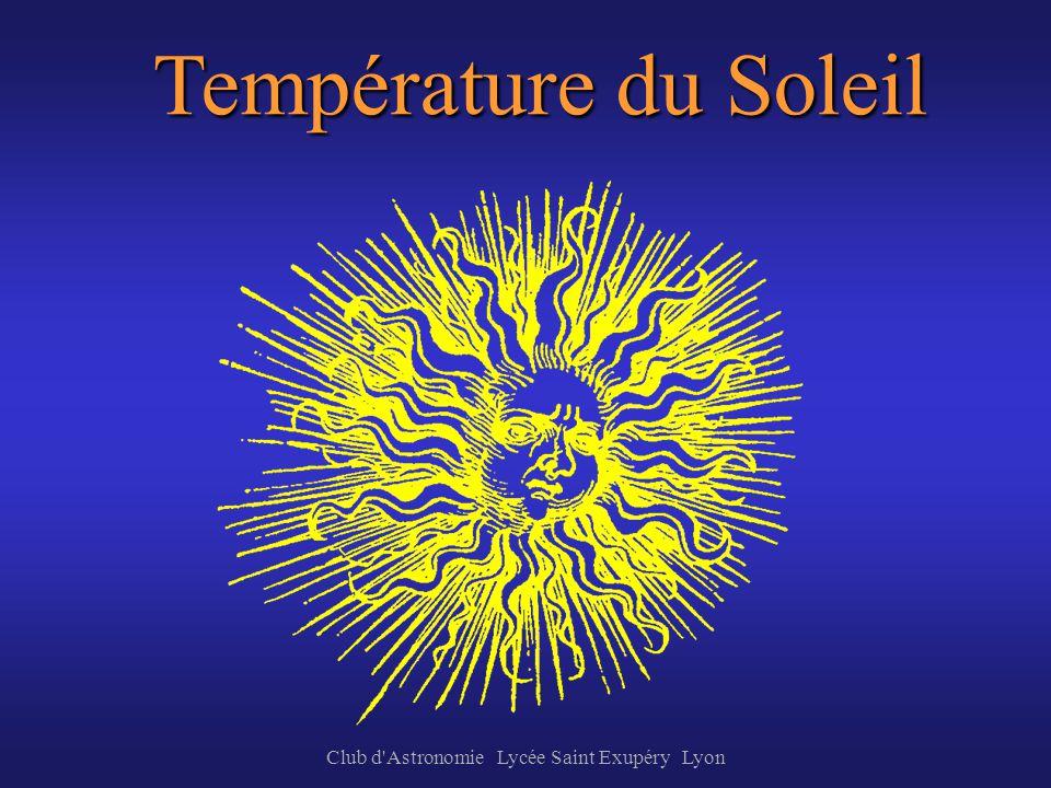 Club d Astronomie Lycée Saint Exupéry Lyon