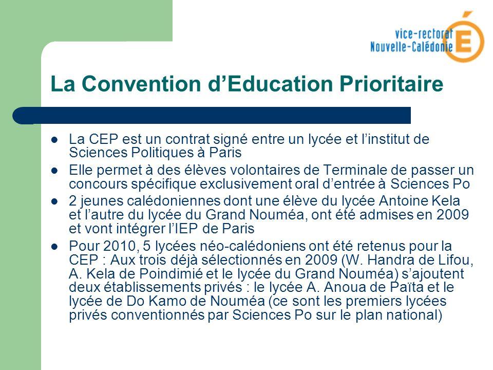 La Convention d'Education Prioritaire