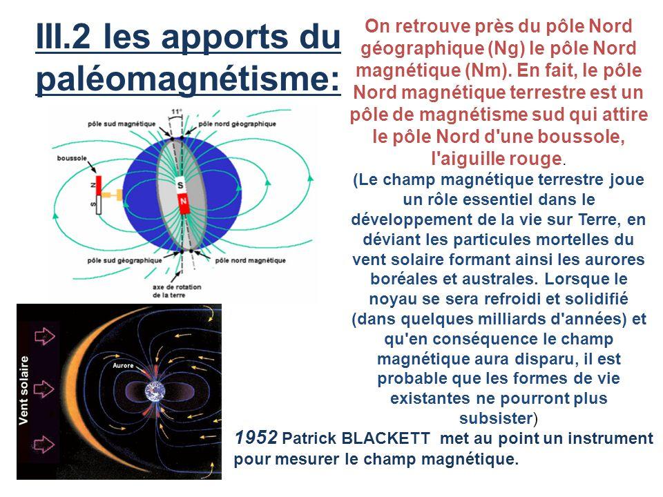 III.2 les apports du paléomagnétisme: ACT 5