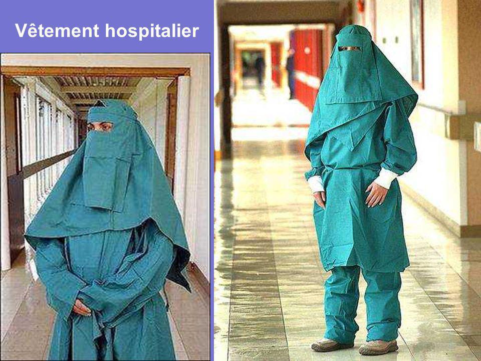 Vêtement hospitalier
