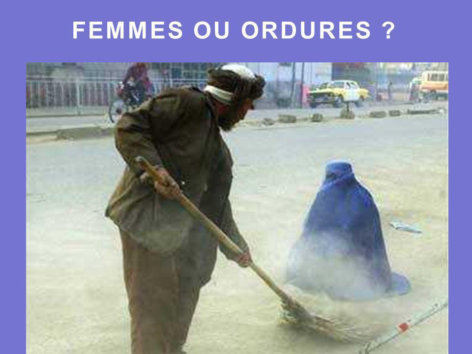 FEMMES OU ORDURES