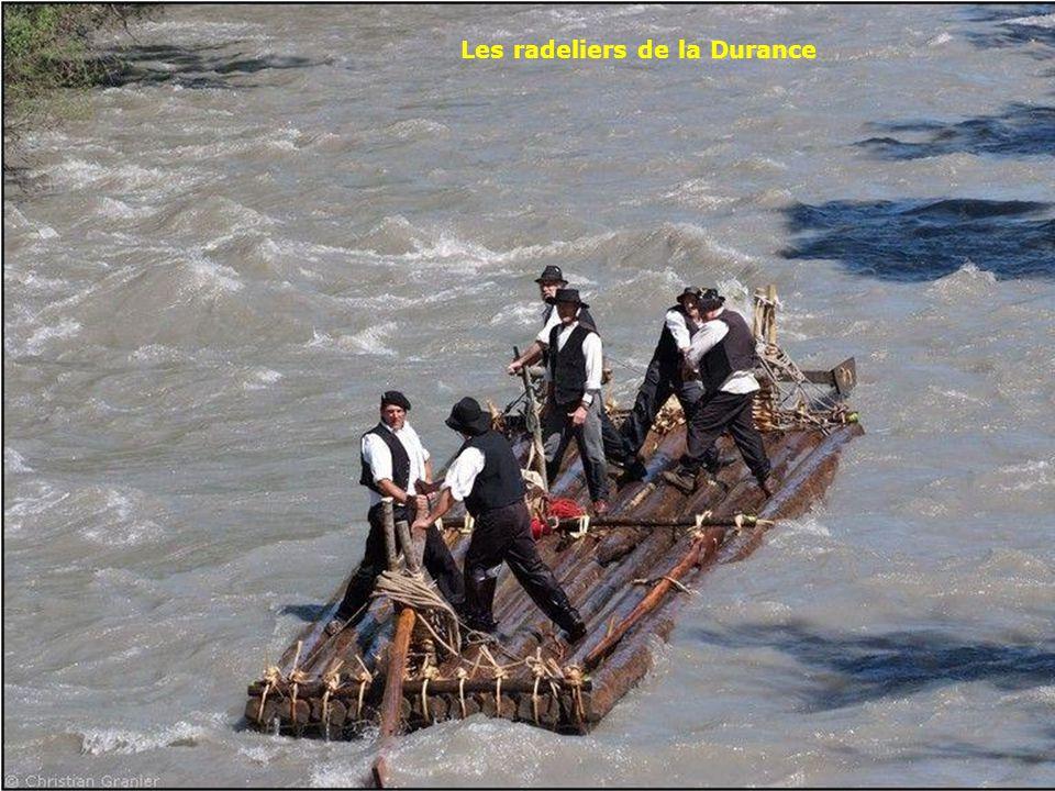 Les radeliers de la Durance
