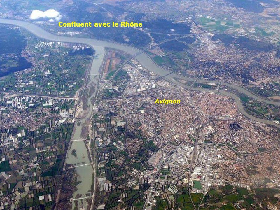 Confluent avec le Rhône