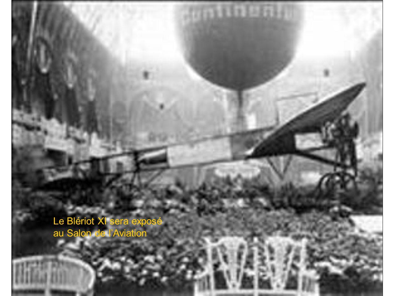 Le Blériot XI sera exposé au Salon de l'Aviation