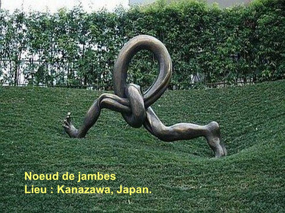 Noeud de jambes Lieu : Kanazawa, Japan.