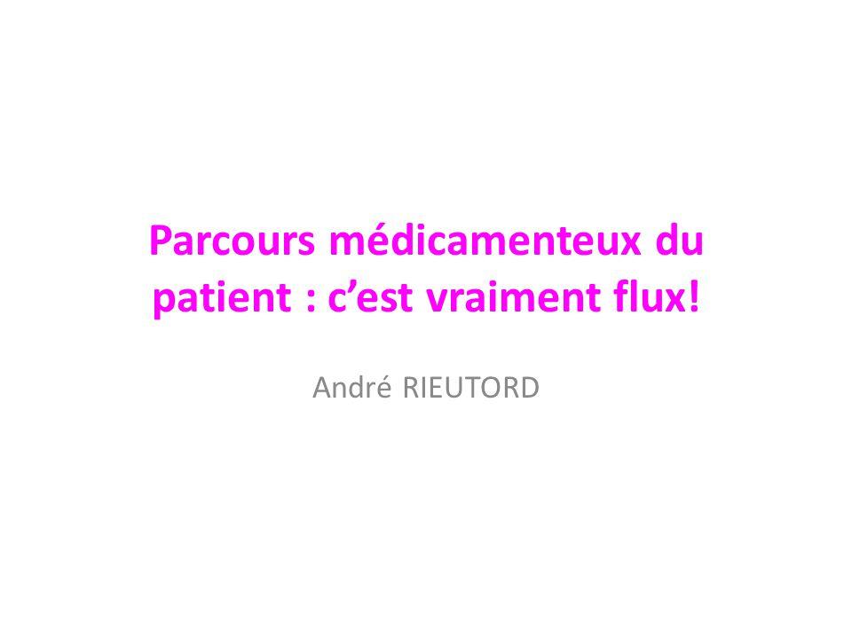 Parcours médicamenteux du patient : c'est vraiment flux!