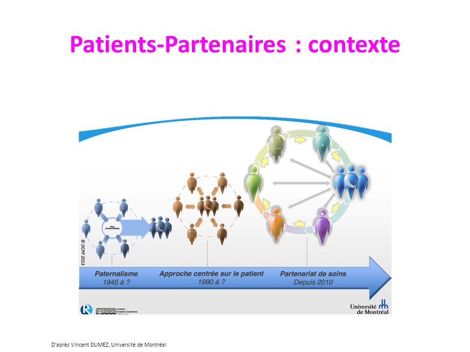 Patients-Partenaires : contexte