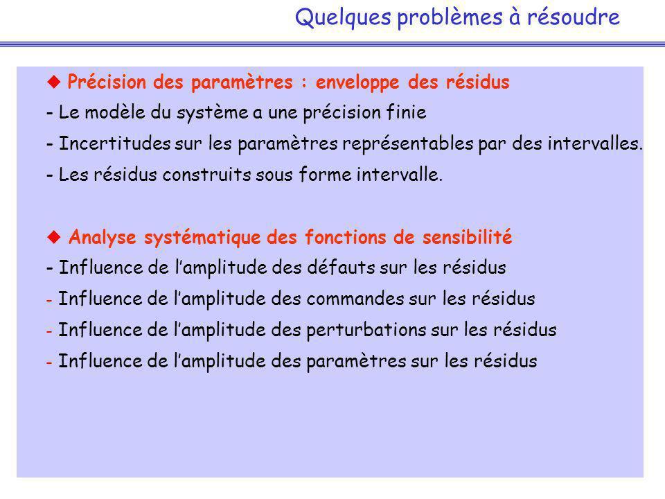 Quelques problèmes à résoudre