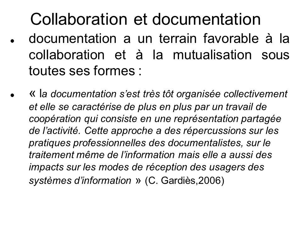 Collaboration et documentation