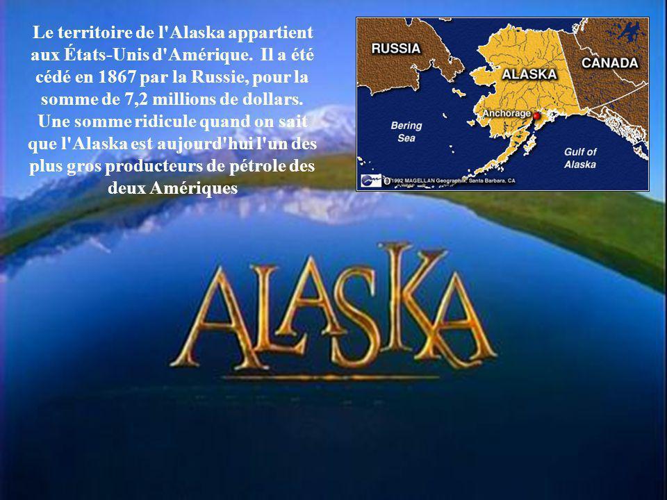 Le territoire de l Alaska appartient aux États-Unis d Amérique