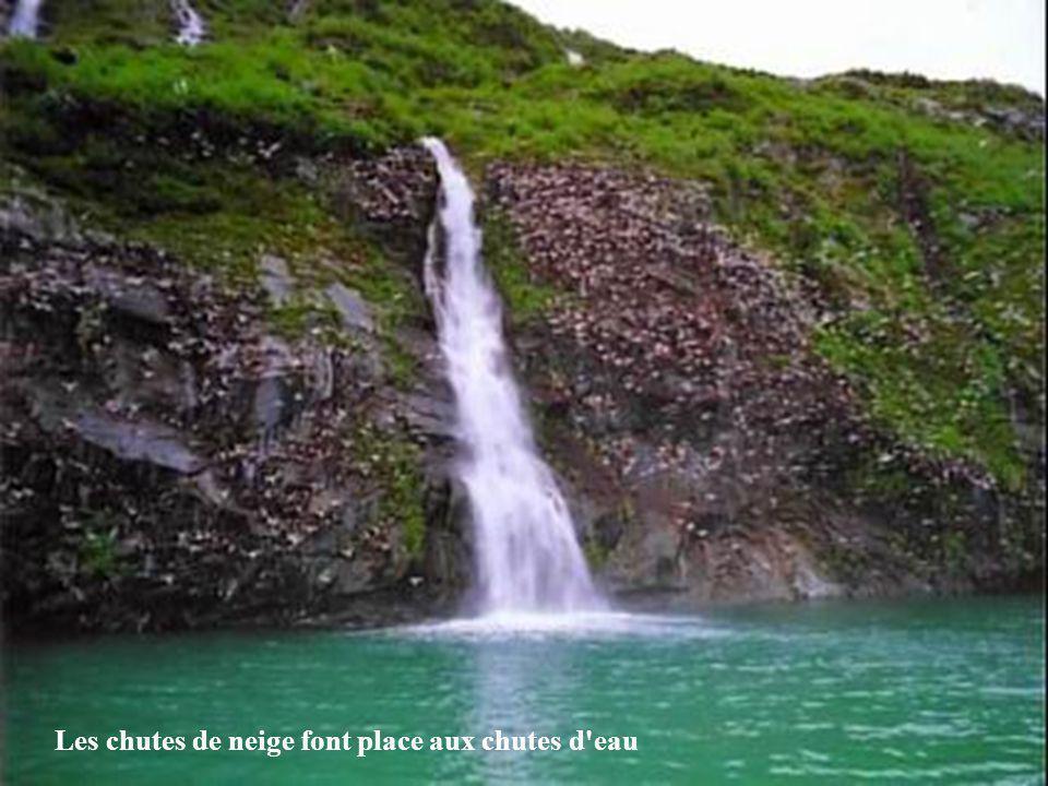 Les chutes de neige font place aux chutes d eau