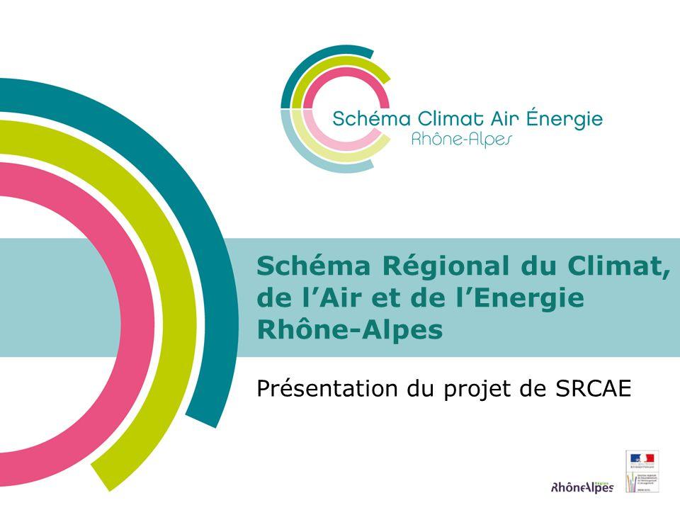 Schéma Régional du Climat, de l'Air et de l'Energie Rhône-Alpes