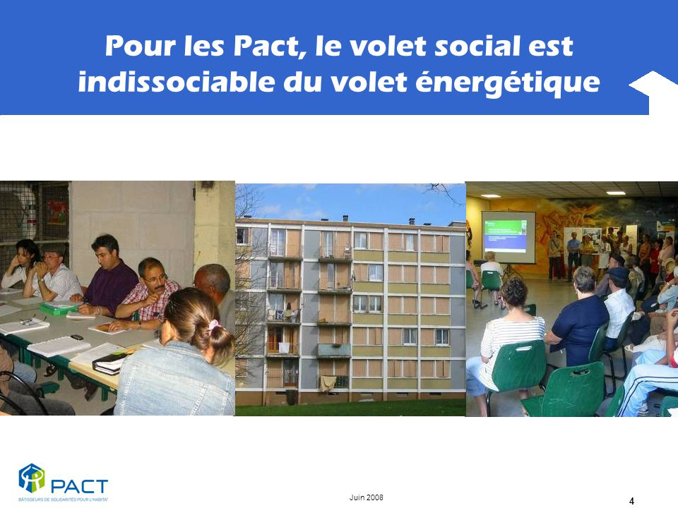 Pour les Pact, le volet social est indissociable du volet énergétique