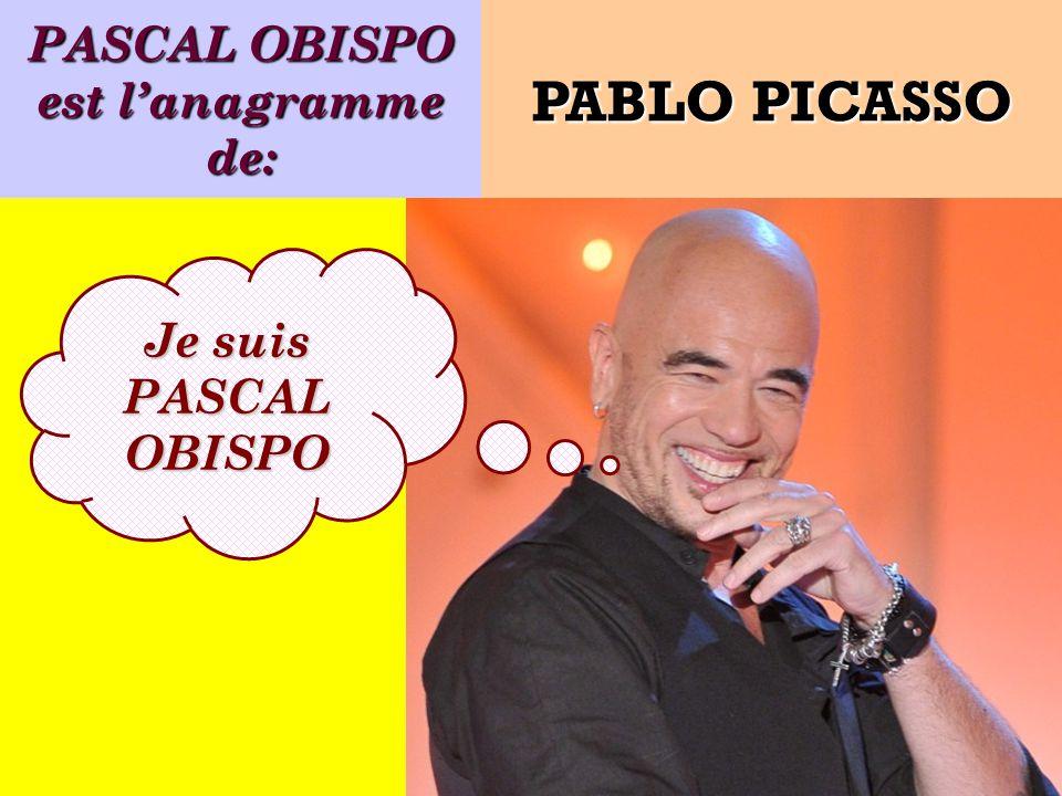PASCAL OBISPO est l'anagramme de: