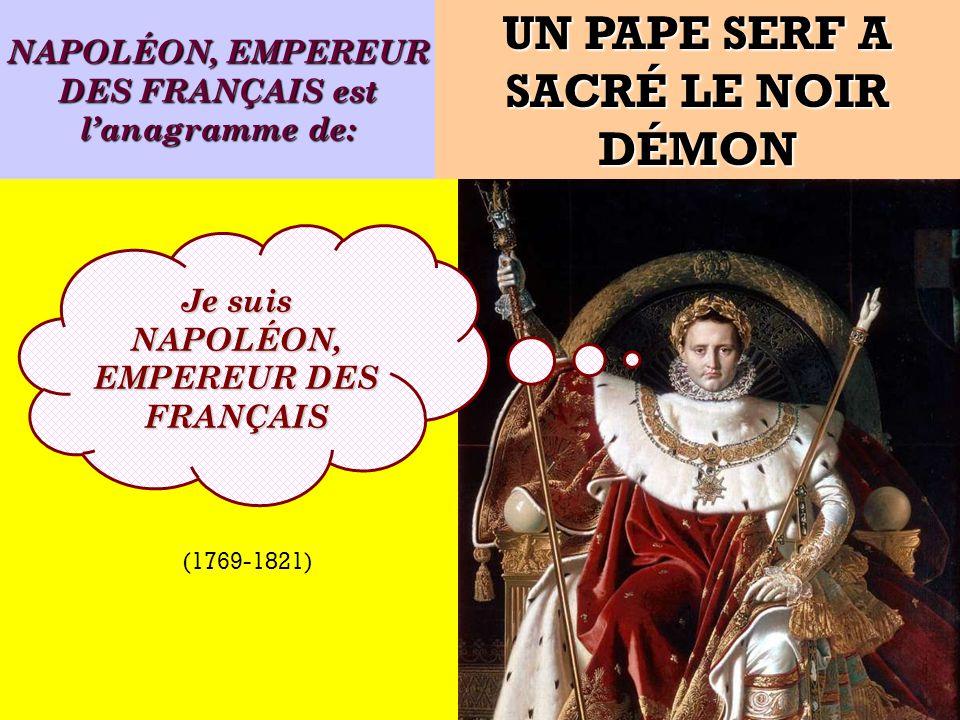 UN PAPE SERF A SACRÉ LE NOIR DÉMON