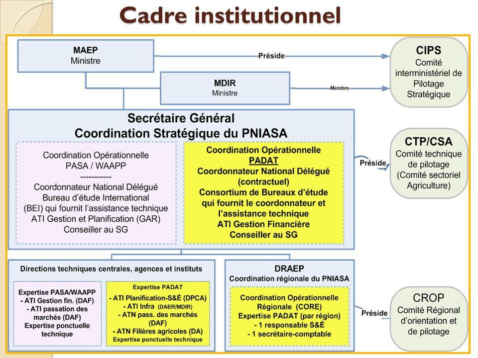Cadre institutionnel Comité Interministériel de pilotage stratégique (CIPS) (1 diapo)