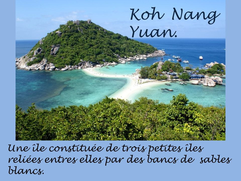 Koh Nang Yuan.