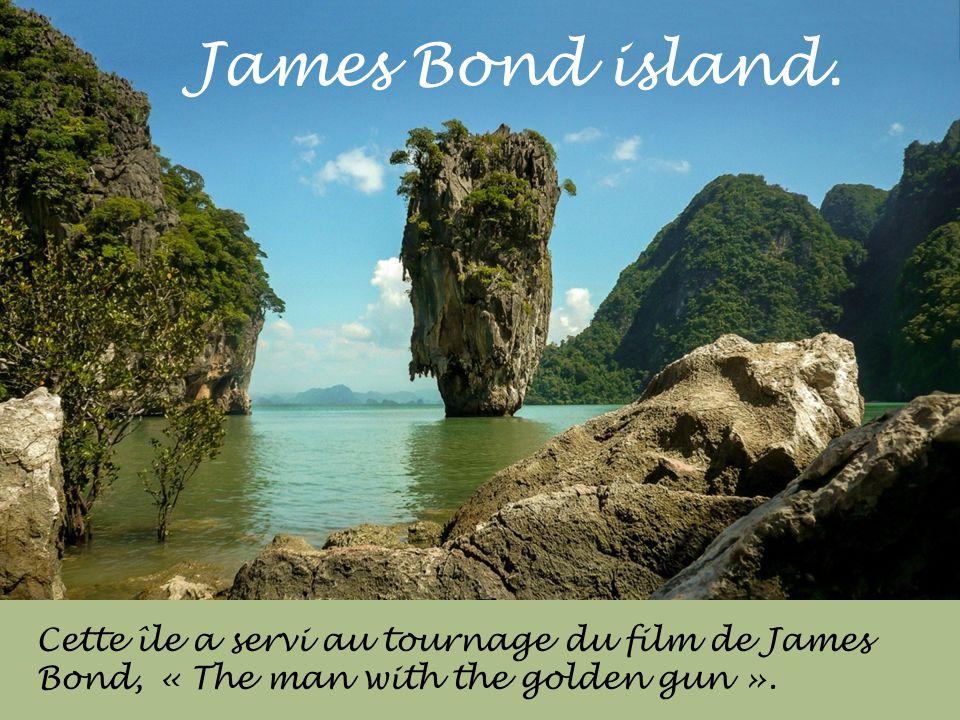 James Bond island.