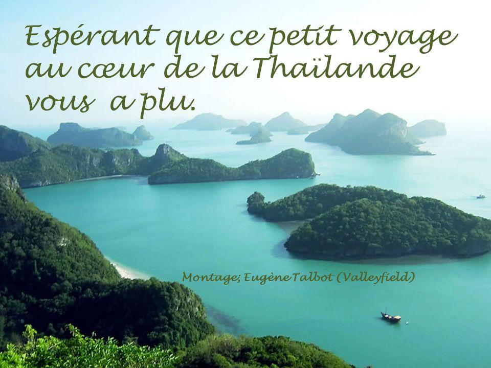 Espérant que ce petit voyage au cœur de la Thaïlande vous a plu.