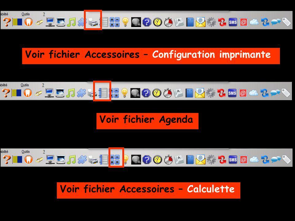 Voir fichier Accessoires – Configuration imprimante