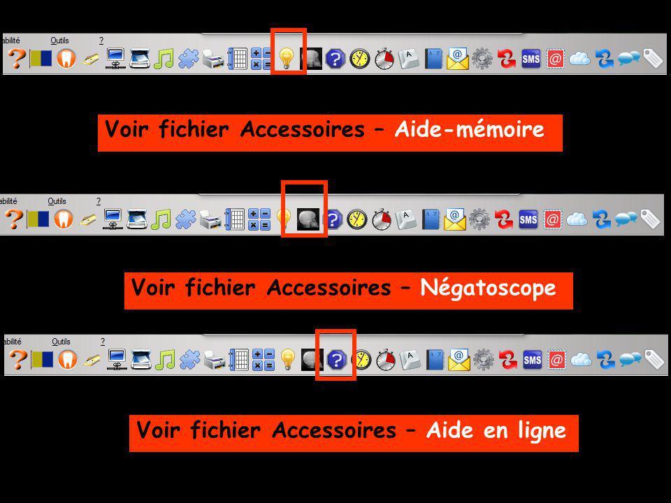 Voir fichier Accessoires – Aide-mémoire