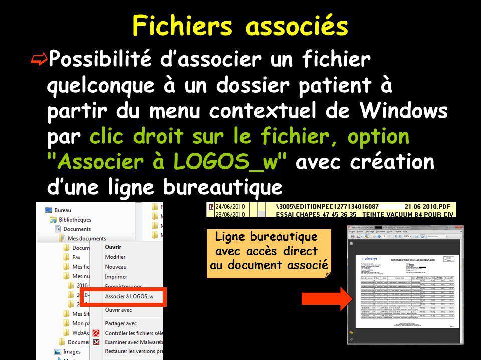 Fichiers associés
