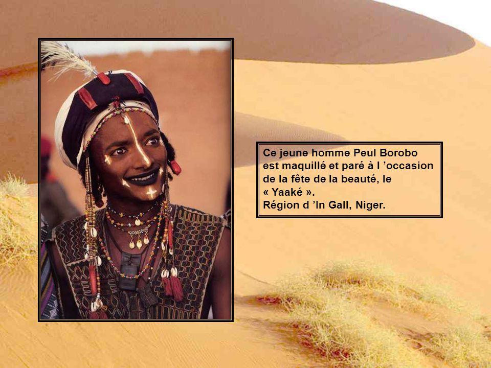 Ce jeune homme Peul Borobo