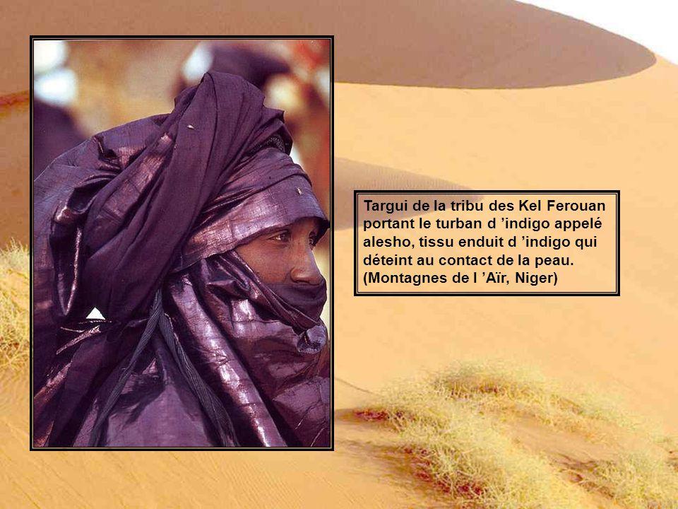 Targui de la tribu des Kel Ferouan