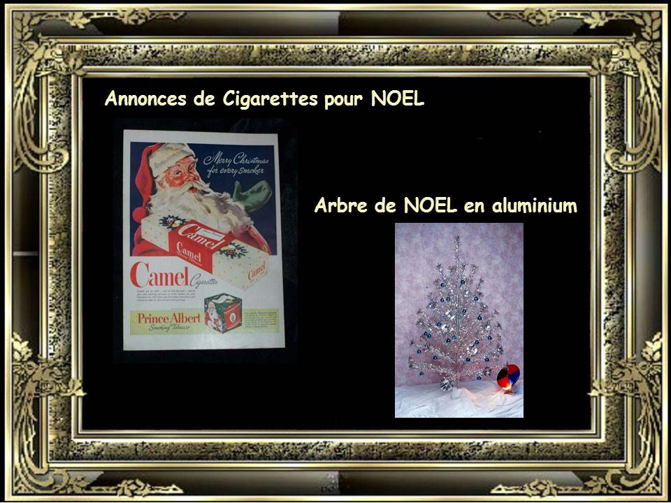 Annonces de Cigarettes pour NOEL