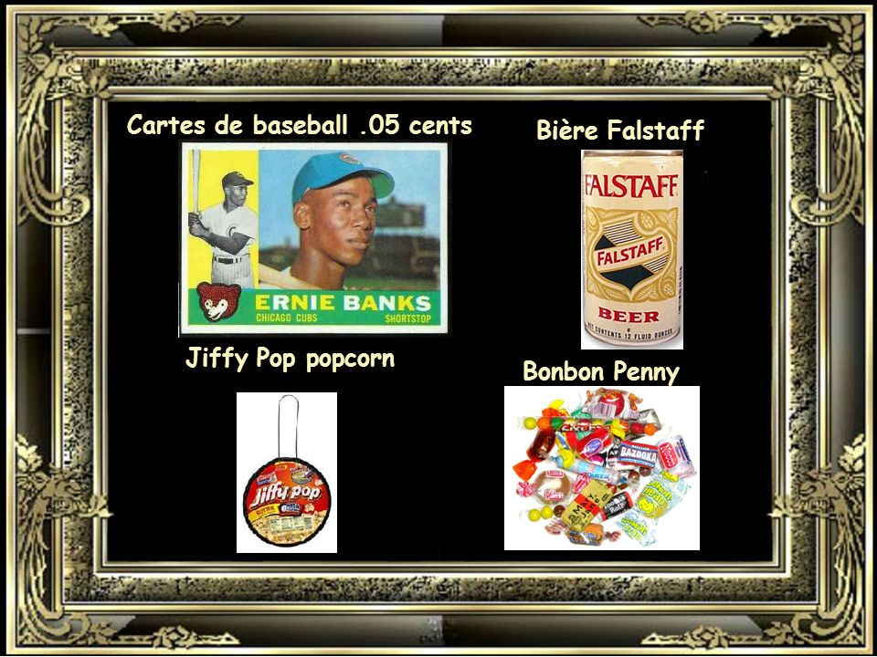 Cartes de baseball .05 cents