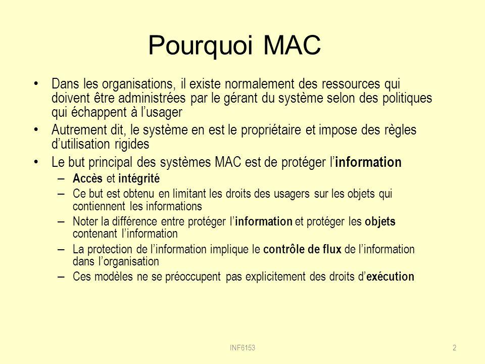 Pourquoi MAC
