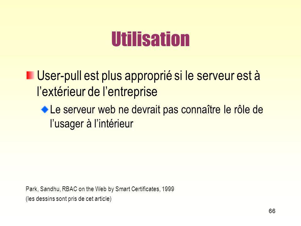 Utilisation User-pull est plus approprié si le serveur est à l'extérieur de l'entreprise.