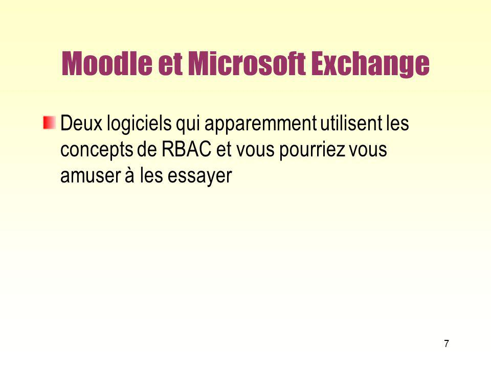 Moodle et Microsoft Exchange