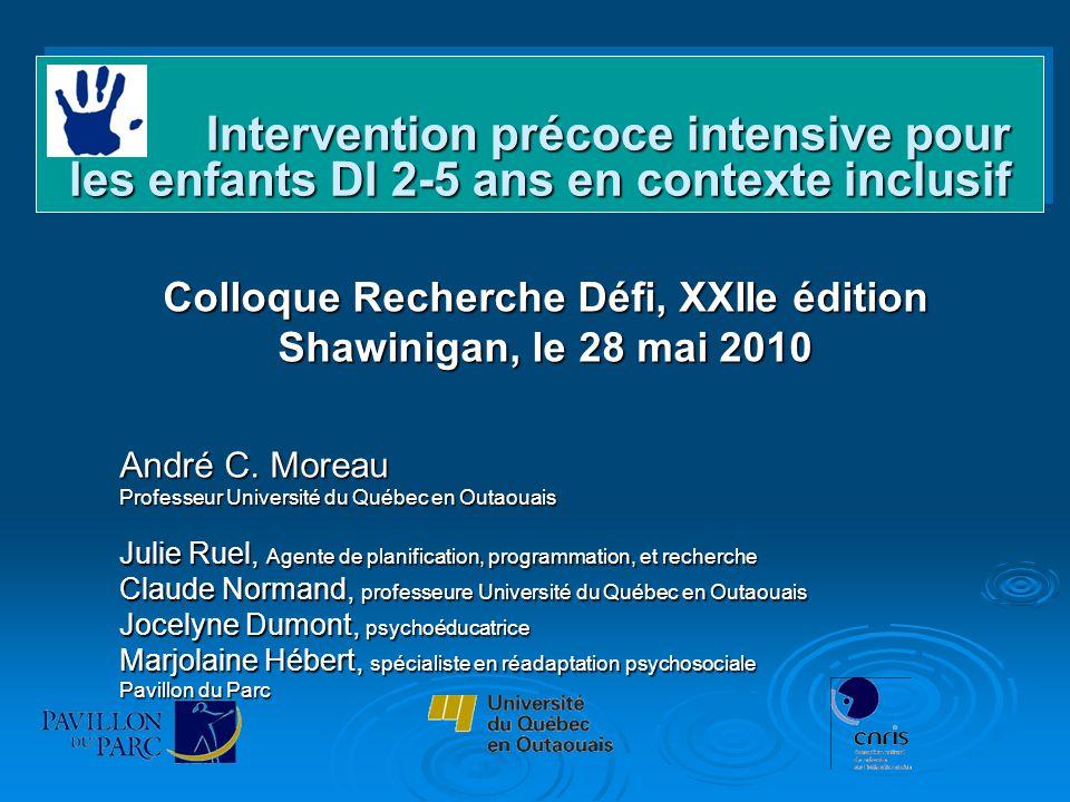 Colloque Recherche Défi, XXIIe édition