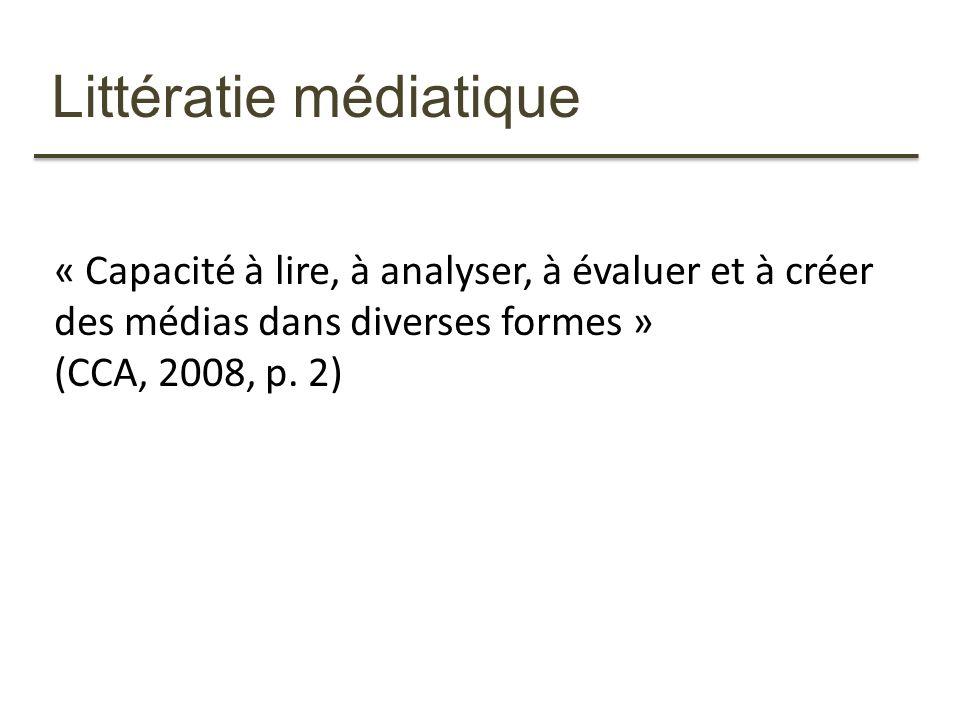 Littératie médiatique