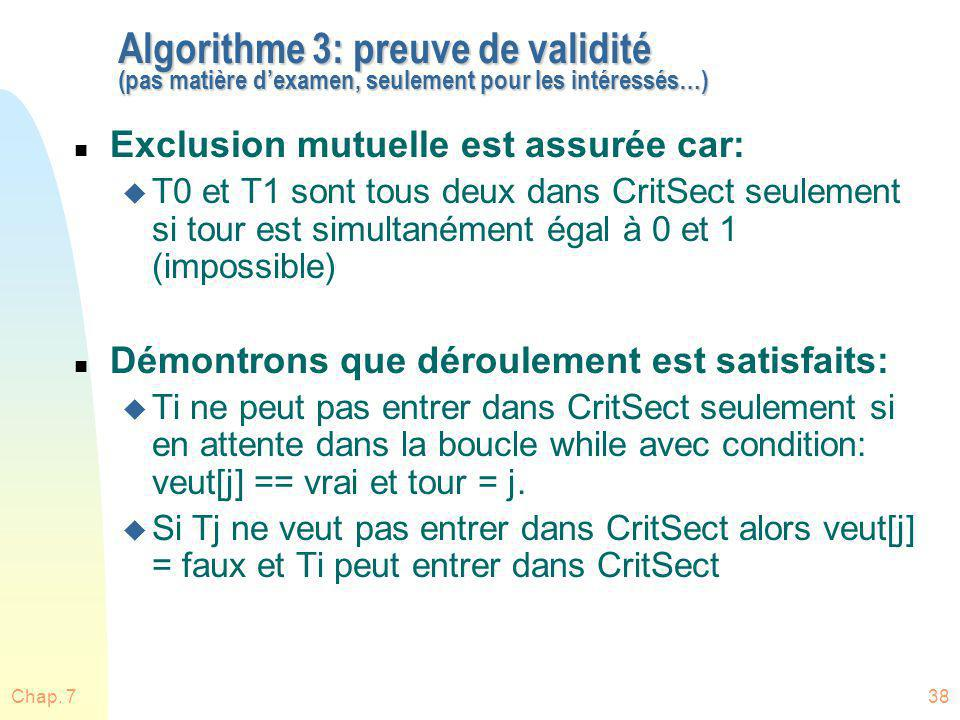 Algorithme 3: preuve de validité (pas matière d'examen, seulement pour les intéressés…)