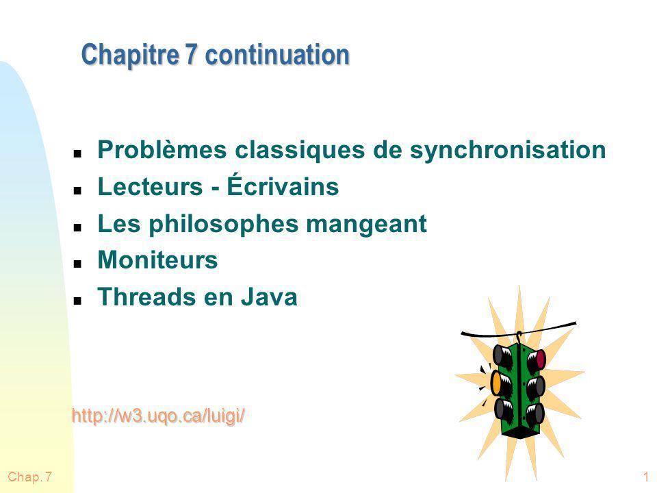Chapitre 7 continuation
