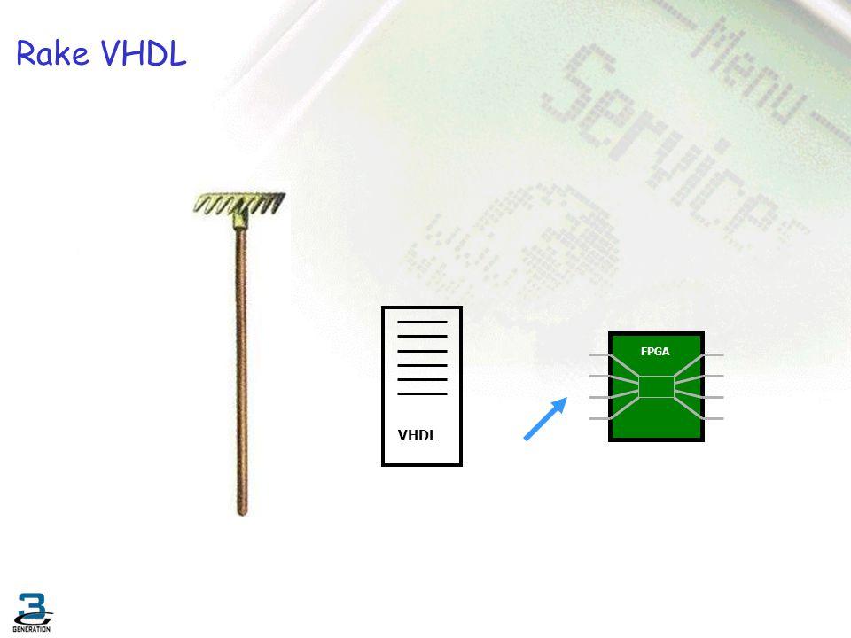 Rake VHDL VHDL FPGA