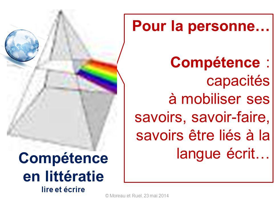 Compétence en littératie lire et écrire