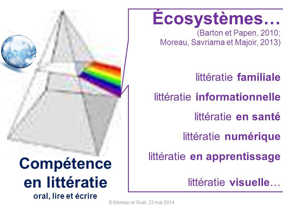Compétence en littératie oral, lire et écrire