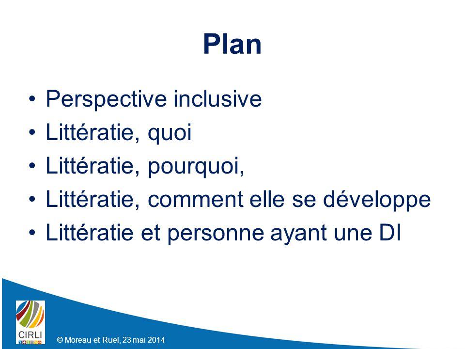 Plan Perspective inclusive Littératie, quoi Littératie, pourquoi,