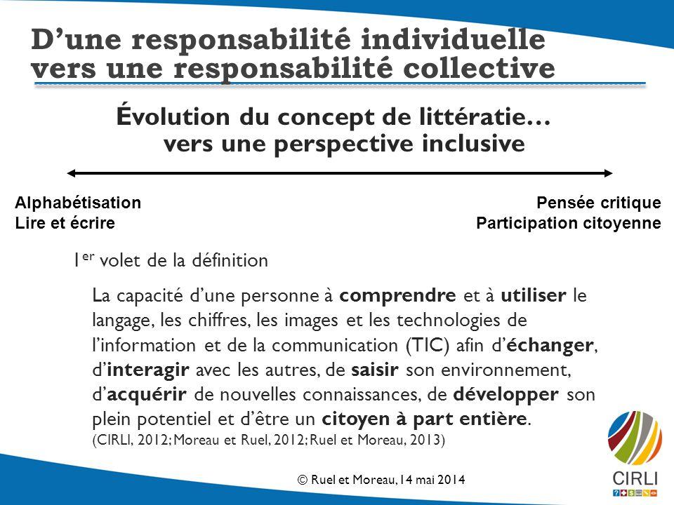 Évolution du concept de littératie… vers une perspective inclusive
