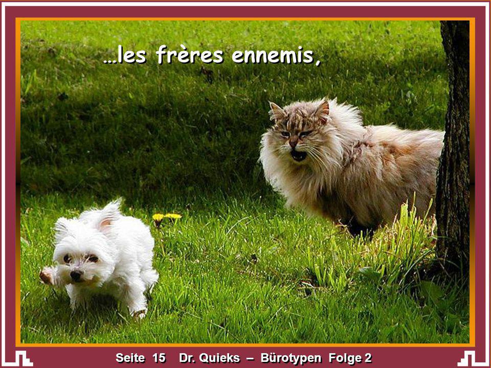 …les frères ennemis,